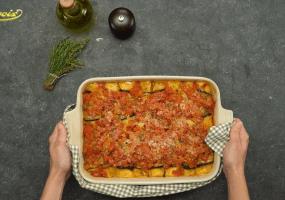 Cannellonis aux aubergines et ricotta