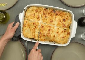 Winterse vegetarische lasagne