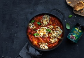One-pot-lasagne