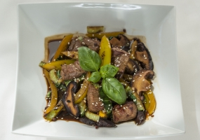 Steak szeshuan