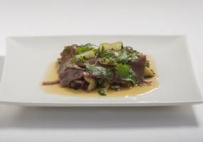 Carpaccio de bœuf thaï
