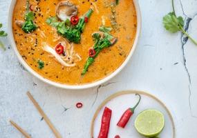 Soupe-repas thaïlandaise