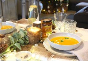 Soupe de potiron façon thaï