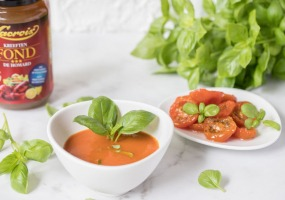 Zongedroogde tomatenfond